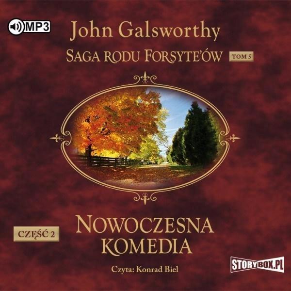 SAGA RODU FORSYTE'ÓW. T.5 NOWOCZESNA... CZ.2 CD