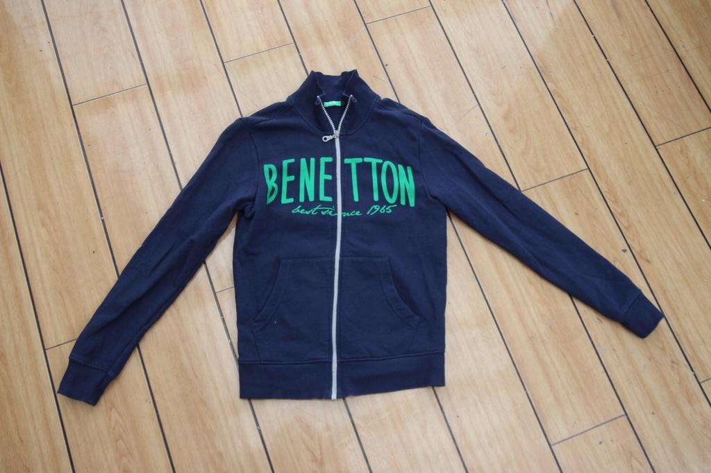BENETTON bluza dresowa STÓJKA 152
