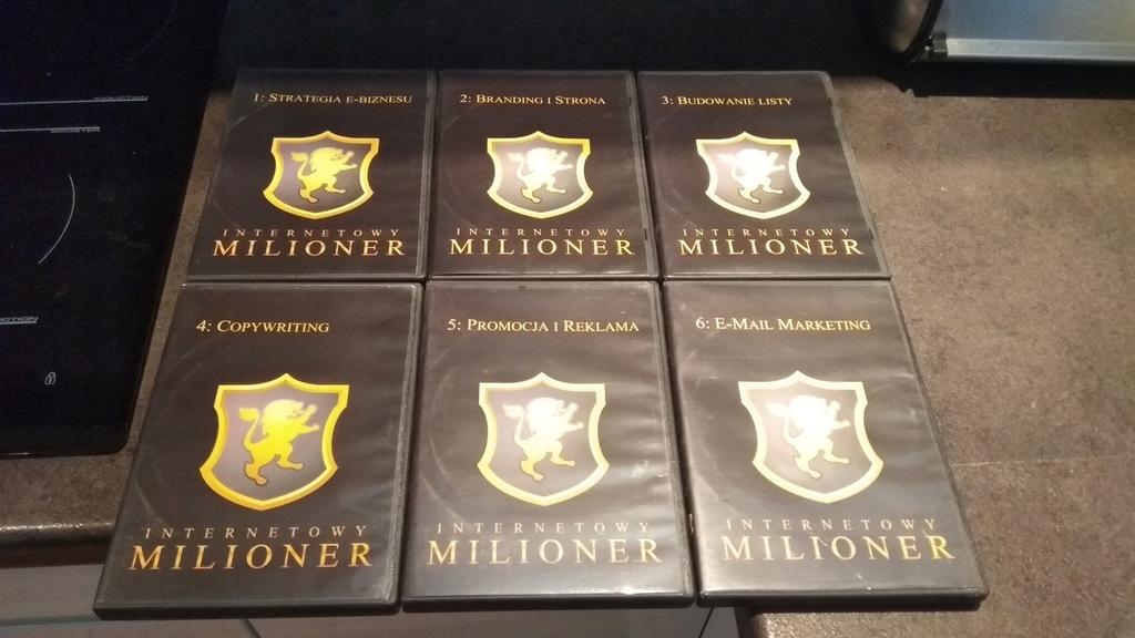 Internetowy Milioner - kurs na 24 płytach DVD