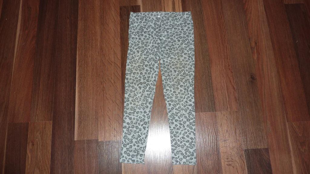 Śliczne getry legginsy rozm. 128 cm
