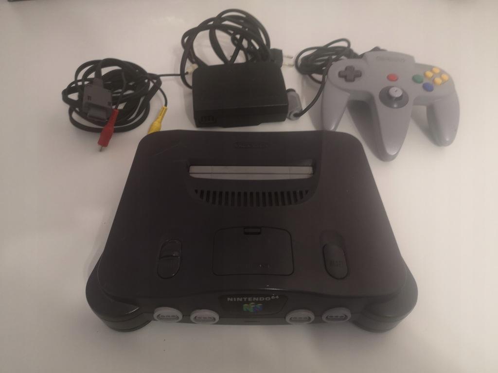 Konsola Nintendo 64 Nus 001