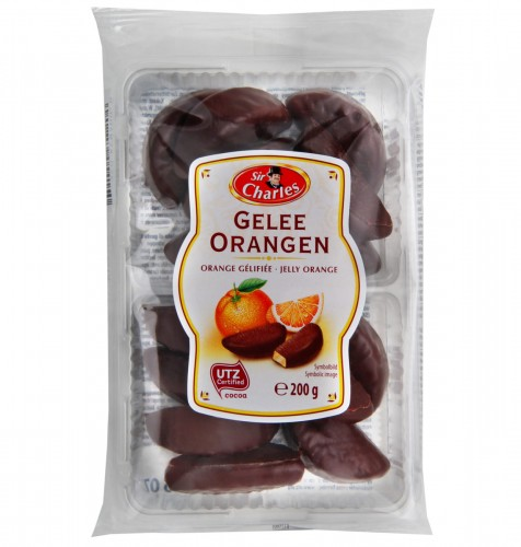 Galaretka Pomarańczowa w Czekoladzie 200 g