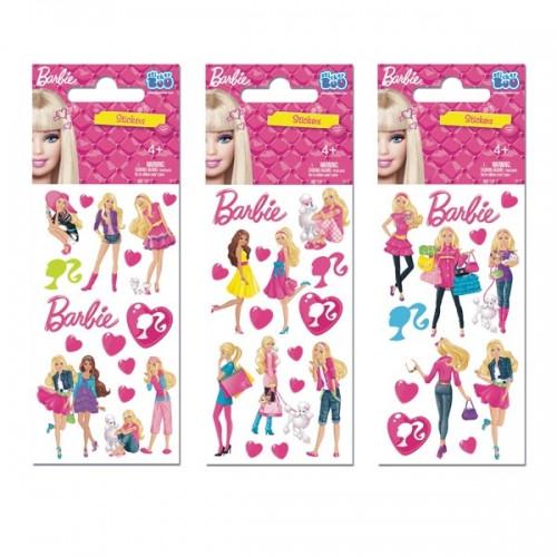 Naklejka Barbie z postaciami Sticker Boo