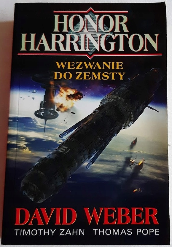 Honor Harrington : Wezwanie do zemsty David WEBER