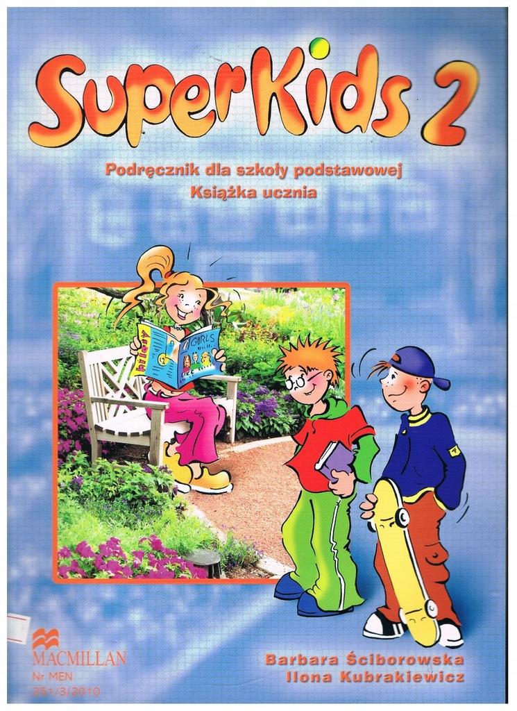 SuperKids 2 podręcznik z płytą CD Super Kids 2