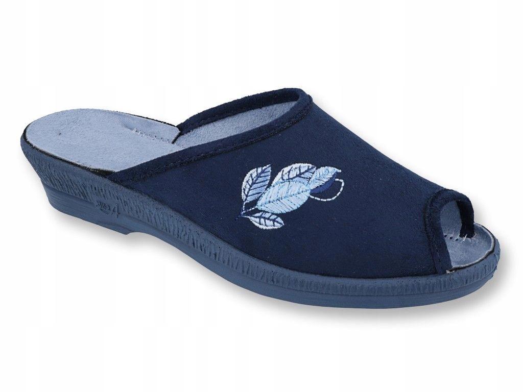 Pantofle kapcie klapki damskie Befado 581/194 R 38