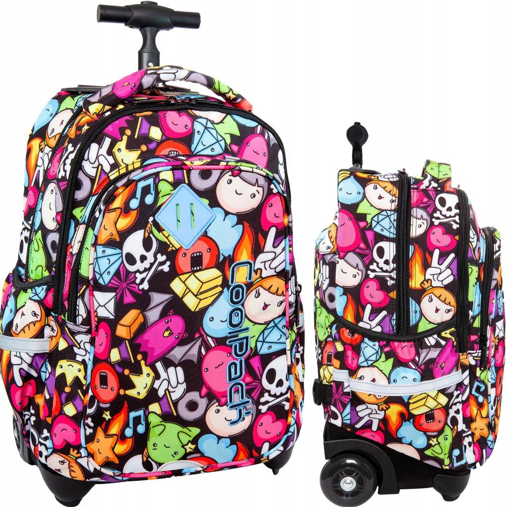 Plecak Na Kolkach Coolpack Do Klas 1 3 Doodle 7873758221 Oficjalne Archiwum Allegro