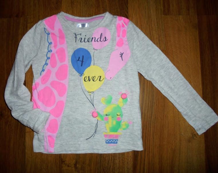 GIRLS Pepco bluzeczka roz.110