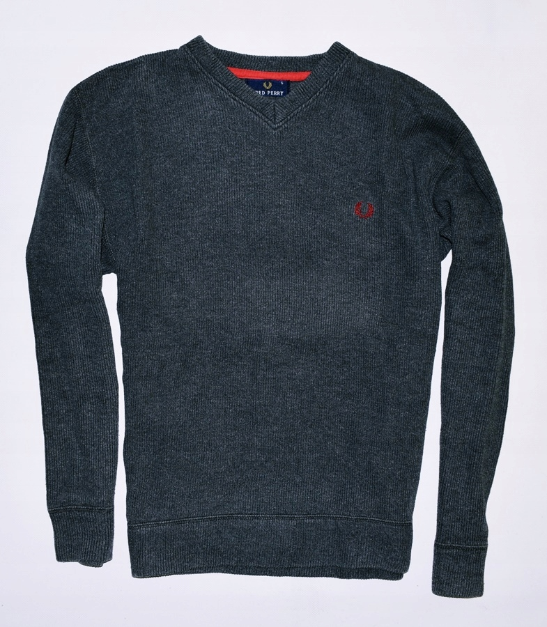 6424-55 ....FRED PERRY... n#s SWETER W MELANZ r.S