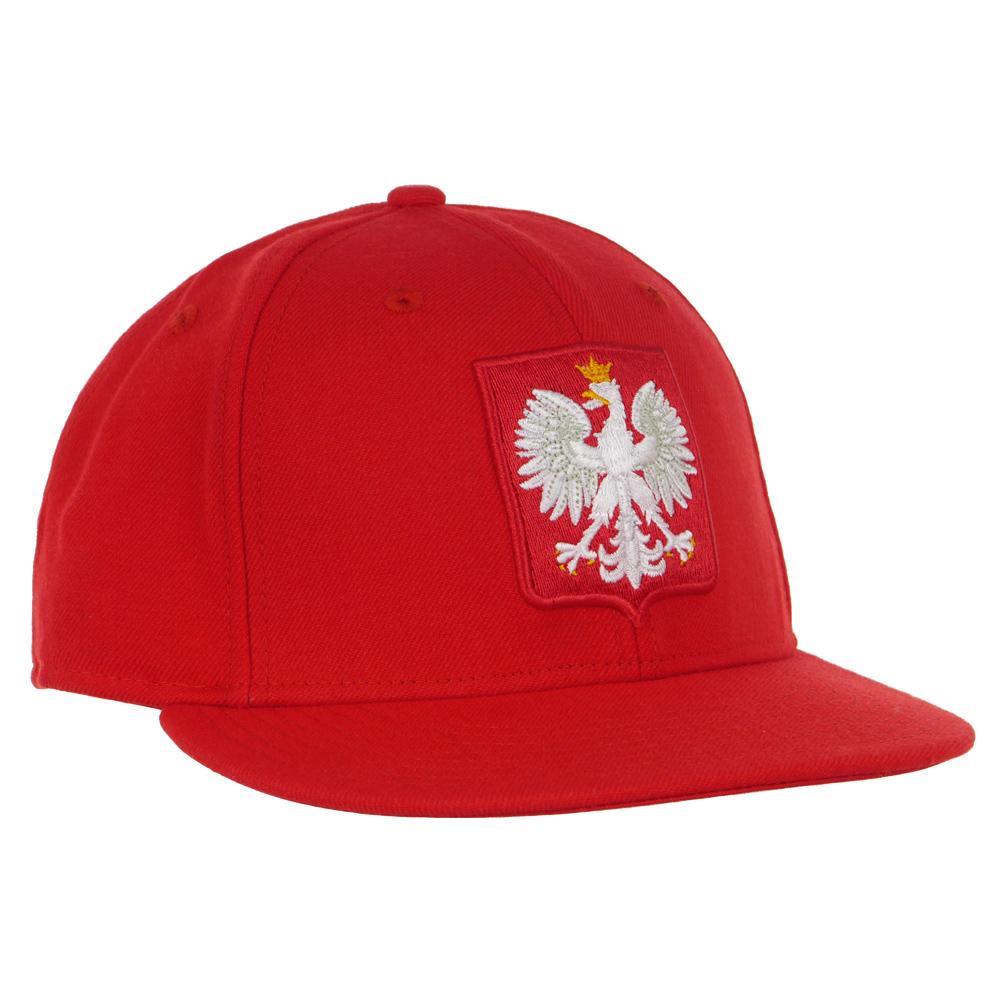 Czapka z daszkiem Nike Polska PZPN sportowa 64 cm
