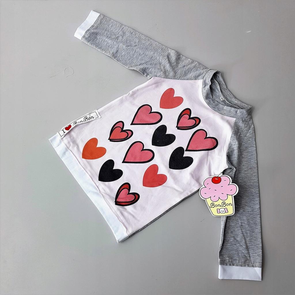 tunika sukienka bluza długi rękaw bawełna r116 a10
