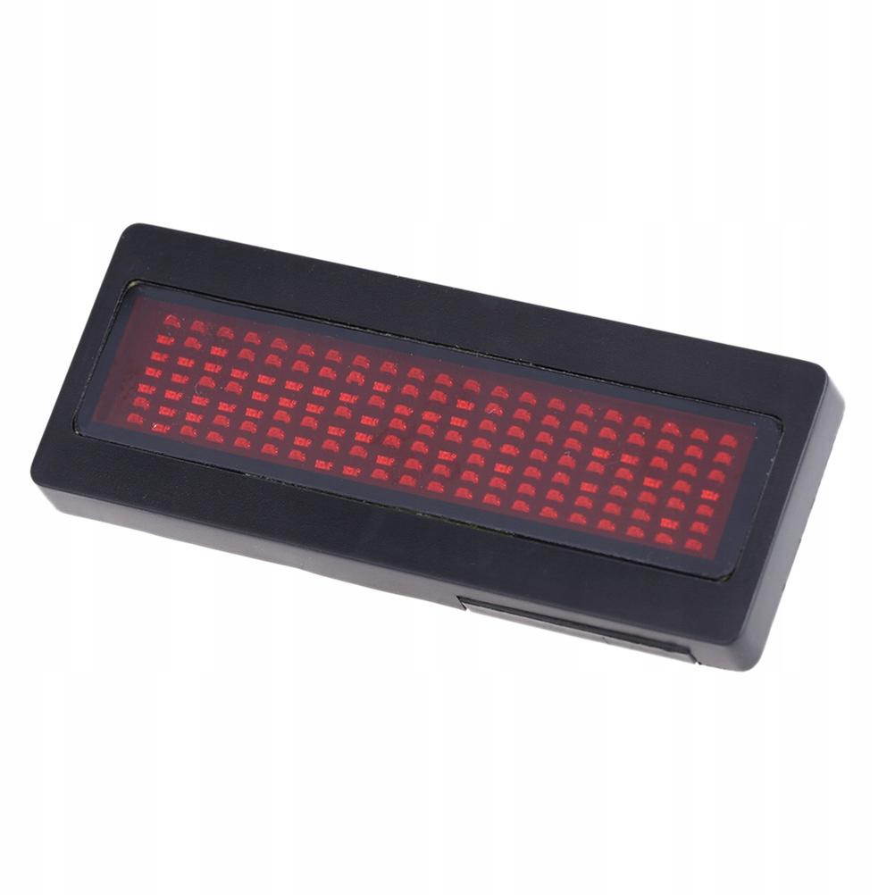 Wyświetlacz LED Zasilany bateryjnie Elektroniczny