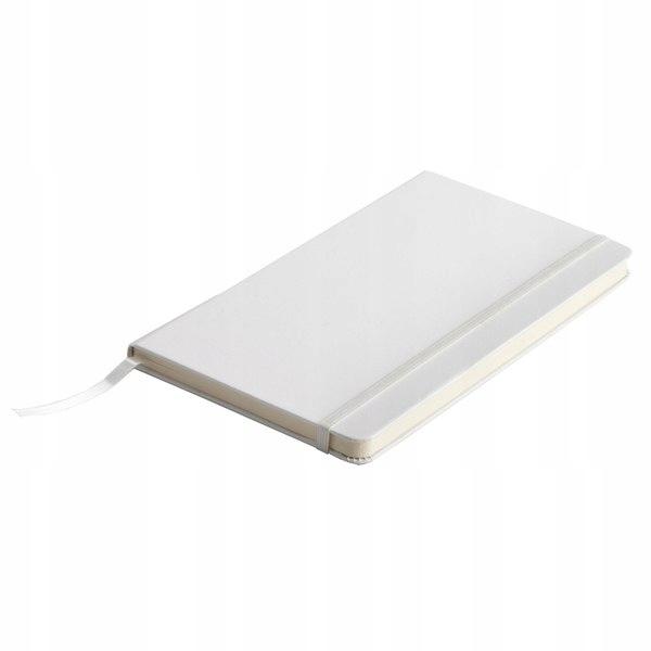 Notatnik Segovia 90x140/80k gładki, biały
