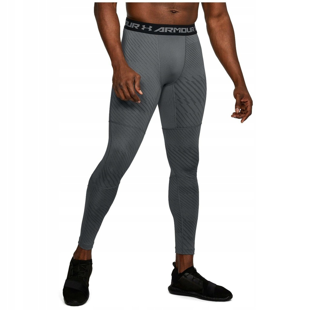 K5766 NOWE GETRY LEGGINSY COLDGEAR UNDER ARMOUR L