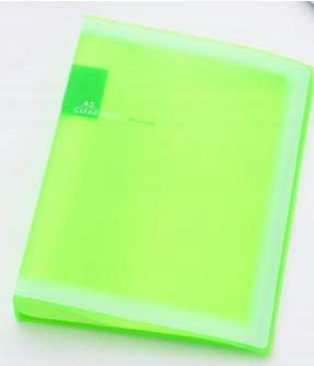 N980 INBIHE Przezroczysty kolorowy OFERTÓWKI A5