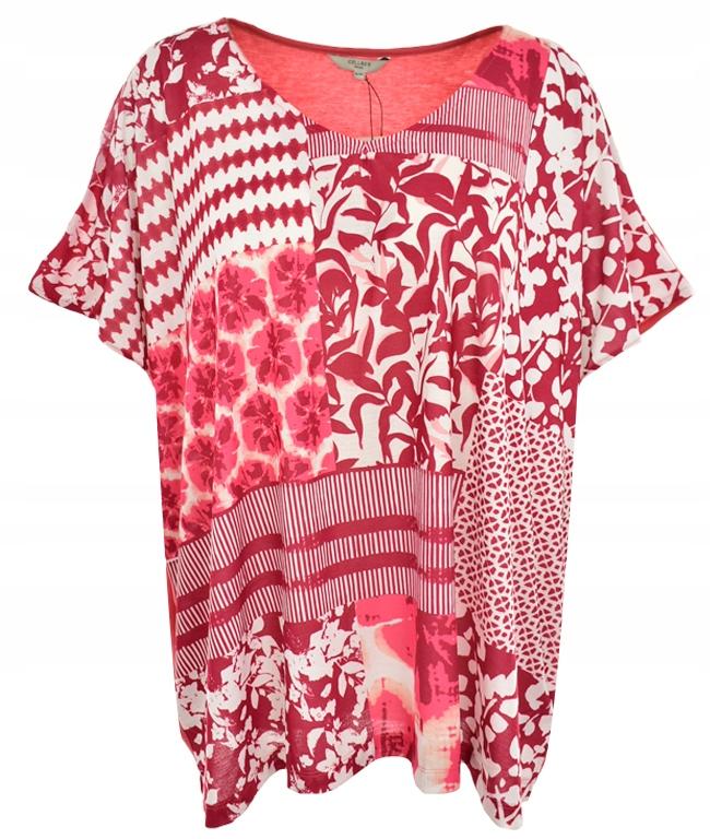 aAG4026 CELLBES kimonowa bluzka z printem 58/60