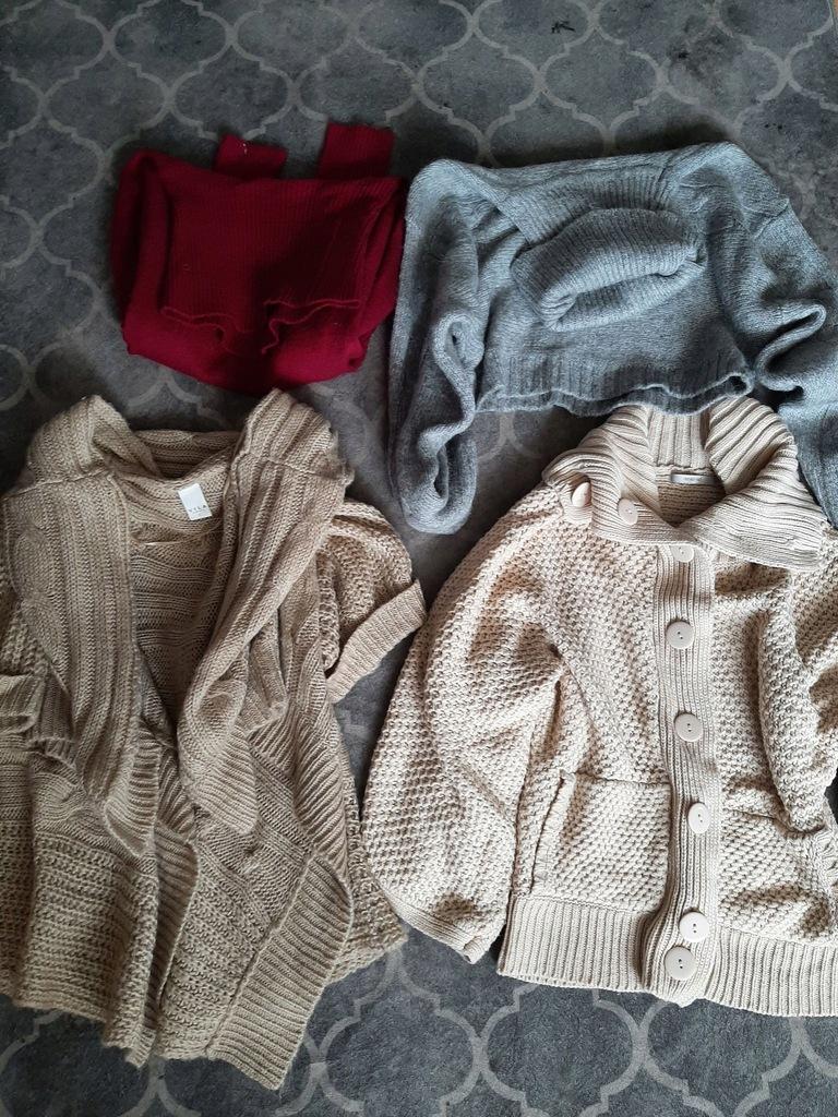 Zestaw swetrów Vila Reserved golf narzutka 40 L