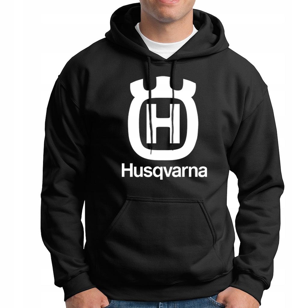 bluza HUSQVARNA gruba hoodie kaptur S-XXL m