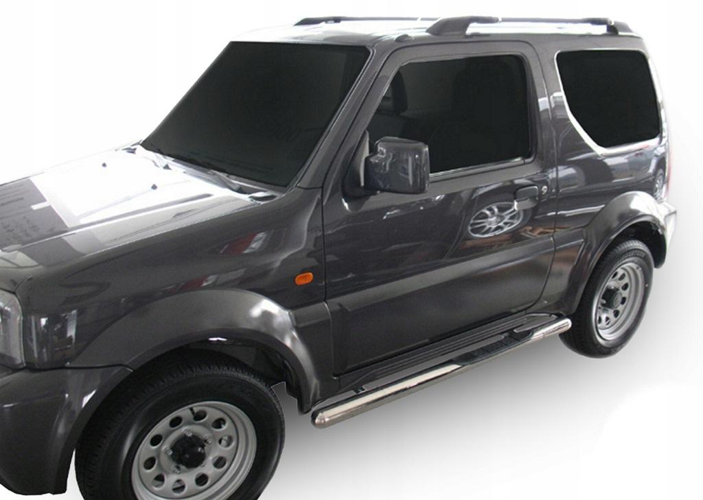 Orurowanie Suzuki Jimny 1998-2018 progi boczne
