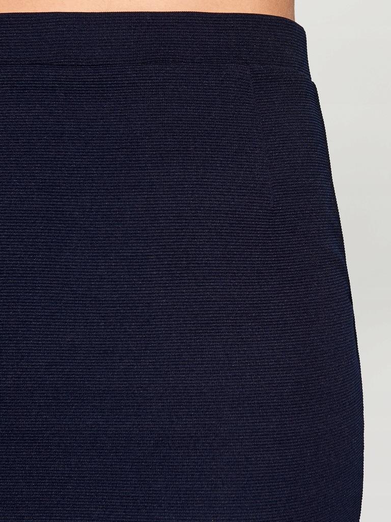 MOHITO spódnica prążkowana xs jak nowa granatowa