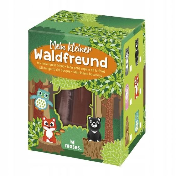 Magiczne drzewo, rosnące figurki, Zwierzęta leśne,