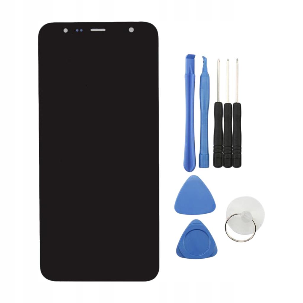 Wymienny ekran LCD czarny