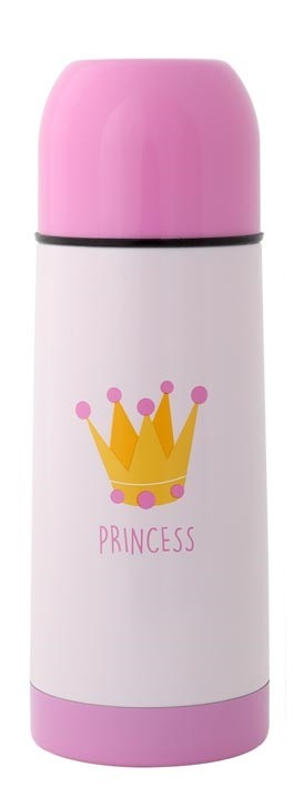 Termos dla dziecka princess 350 ml różowy KIOKIDS