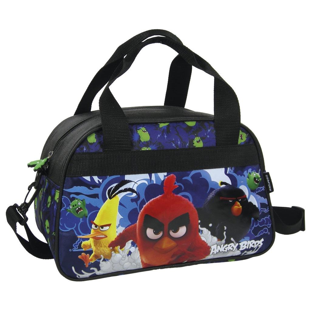 Torba Podrozna Sport Trening Angry Birds Derform 7152954278 Oficjalne Archiwum Allegro