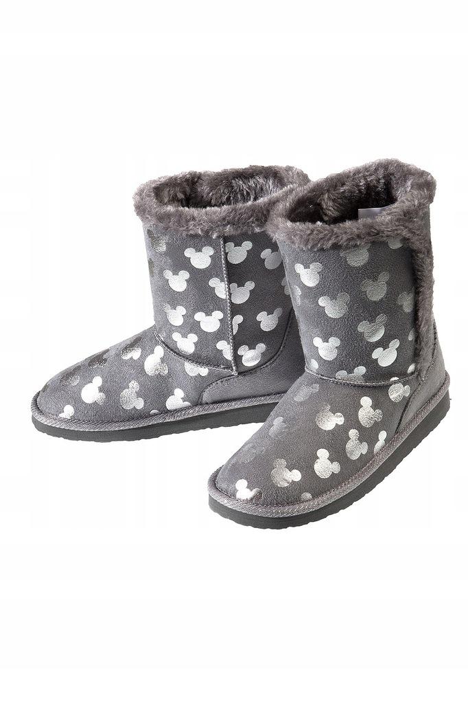 MICKEY MOUSE buty kozaki ocieplane r 36 zima emu