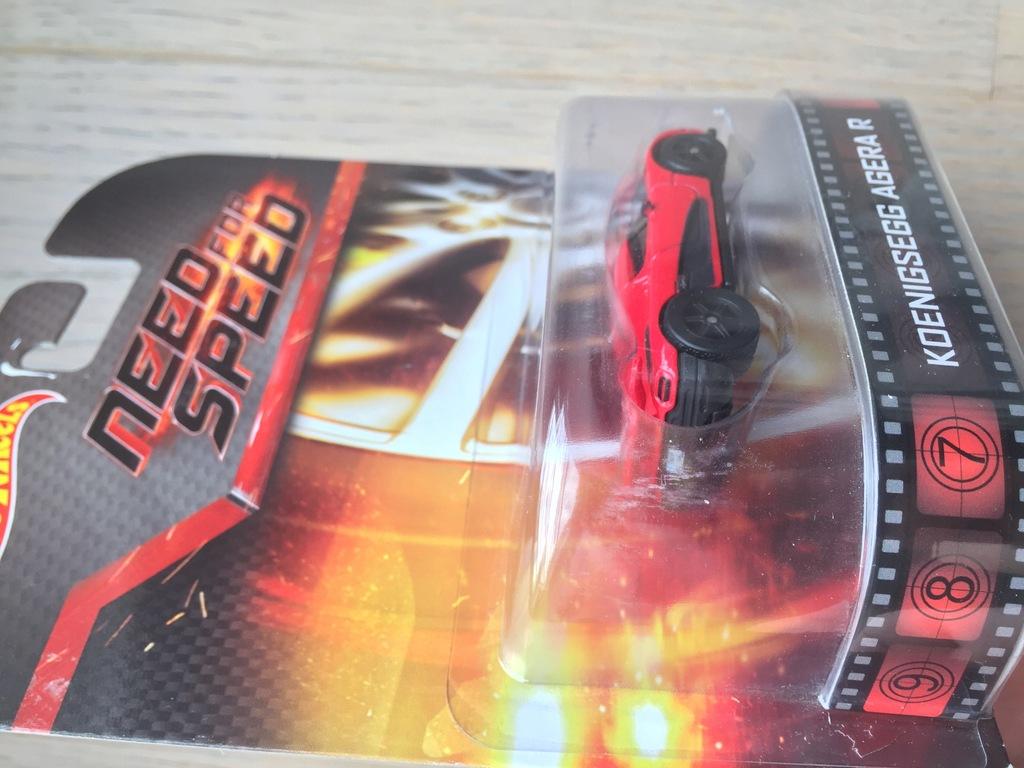 Hot Wheels Koenigsegg Agera R Need For Speed 8387534440 Oficjalne Archiwum Allegro
