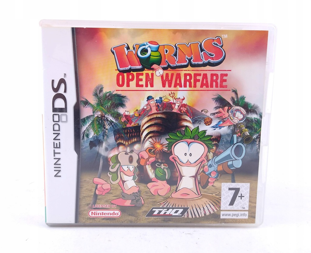 Worms Open Warfare DS ! Nintendo