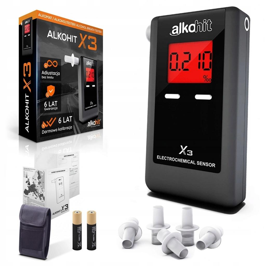 Alkomat elektrochemiczny Alkohit X3