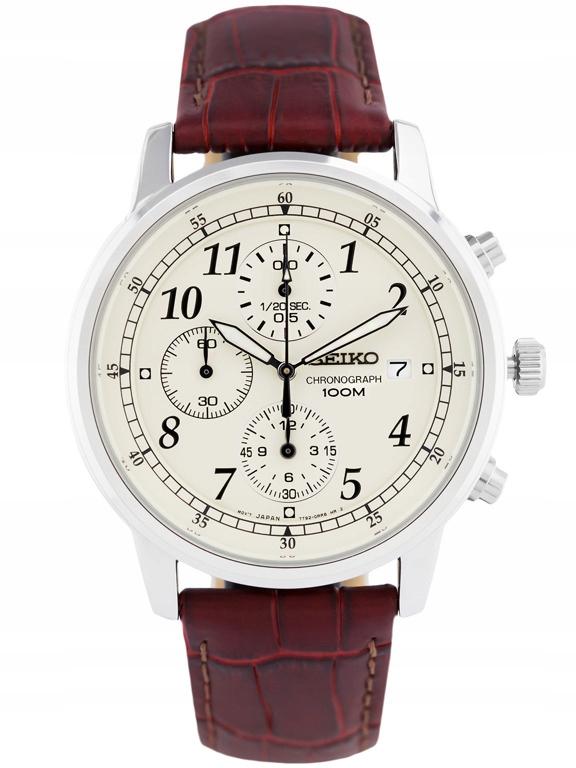 Zegarek SEIKO SNDC31P1 chrono 10ATM