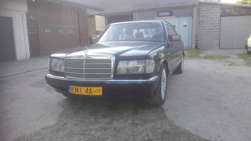 Mercedes Benz W126 260 SE 1990r. ZABYTEK NOWA CENA
