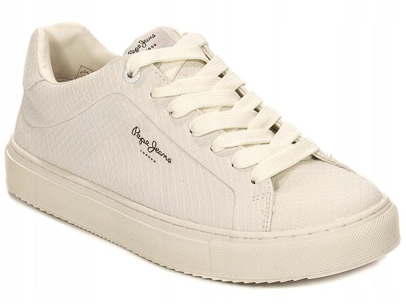 Sneakersy tenisówki PEPE JEANS r.41 białe PLS30603