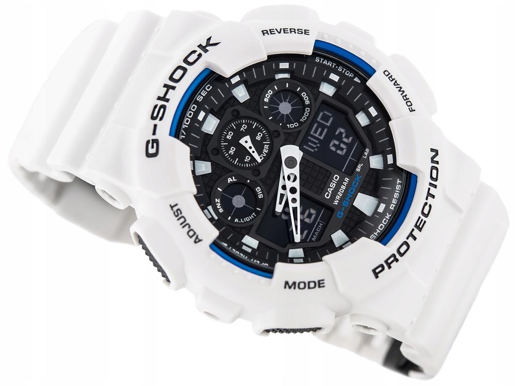 MĘSKI ZEGAREK CASIO GA-100B 7A G-SHOCK 200M SKLEP