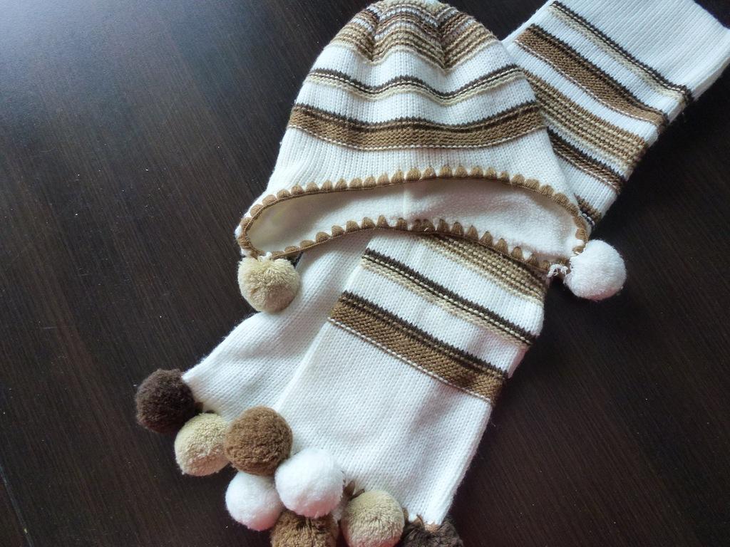 102* komplet zimowy Wójcik rozm 68 czapka szalik