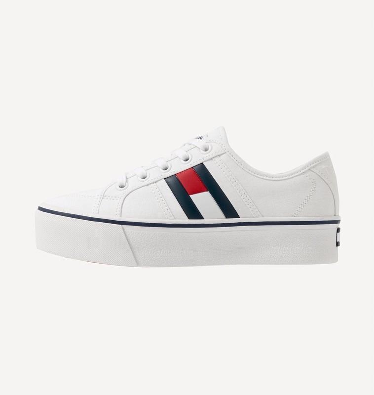 Tommy Hilfiger białe trampki sneakersy 37