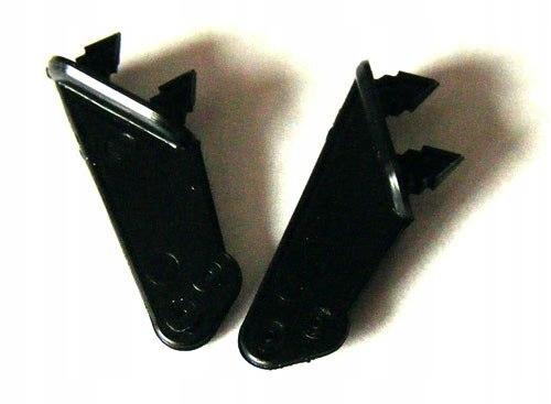 Dźwignie steru typ 3, 0,8mm, Czarne, 2 szt