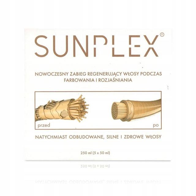 Sunplex Zabieg 250 ml - Natychmiastowa odbudowa