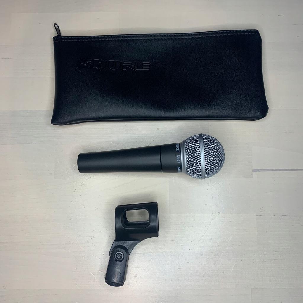 Mikrofon dynamiczny Shure SM58LCE