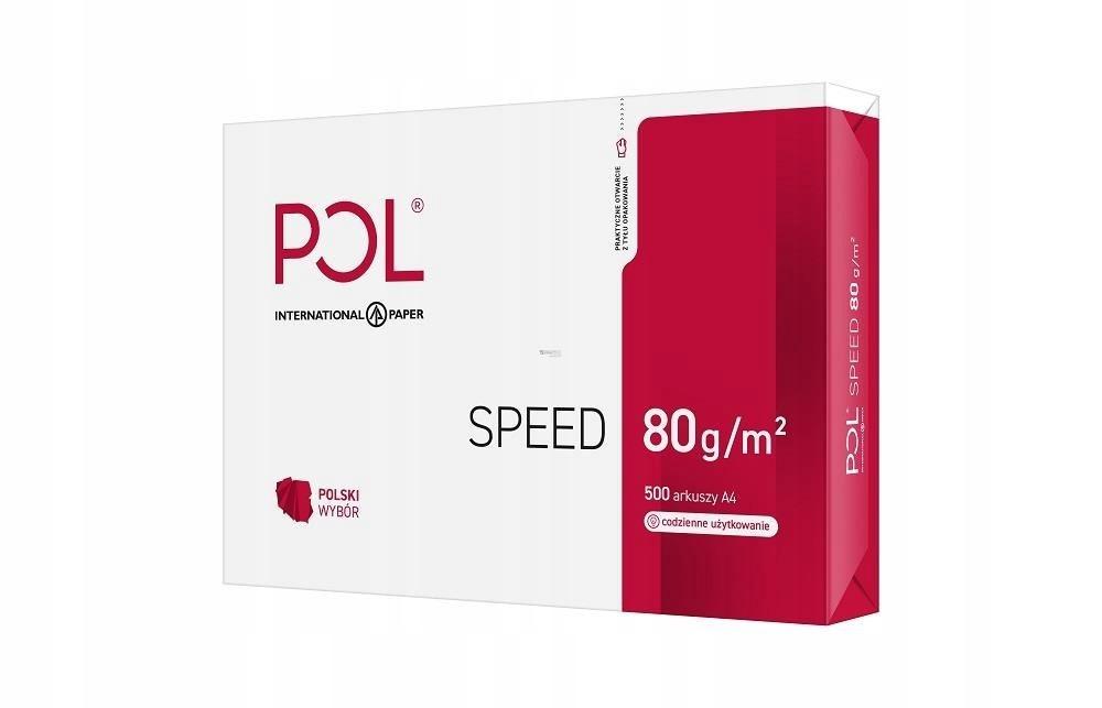Papier Xero Igepa POLSPEED (A4; 80g/m2; 500 szt.;