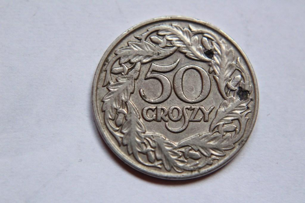 50 GROSZY 1923 NIKIEL   - W128
