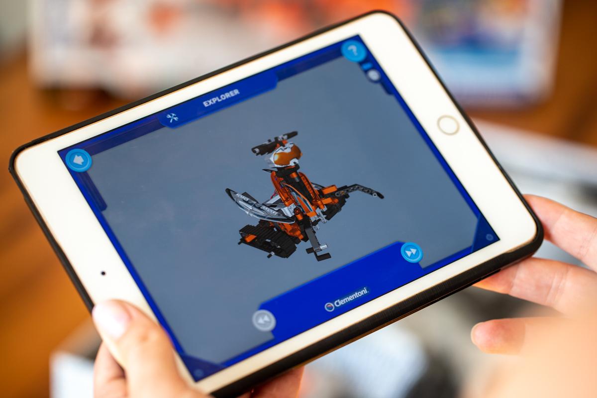 3D robot v aplikácii
