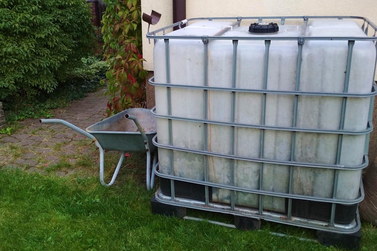 nádrž na dažďovú vodu