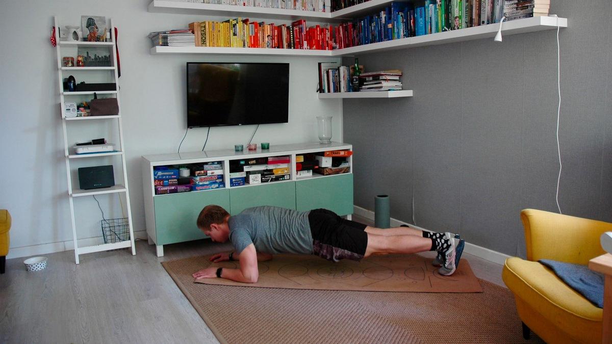 plank cvičenie