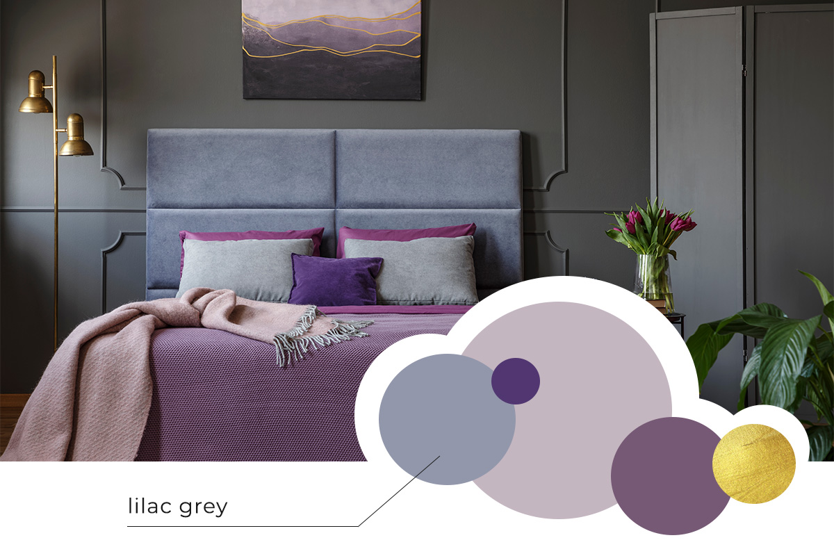 lilac grey