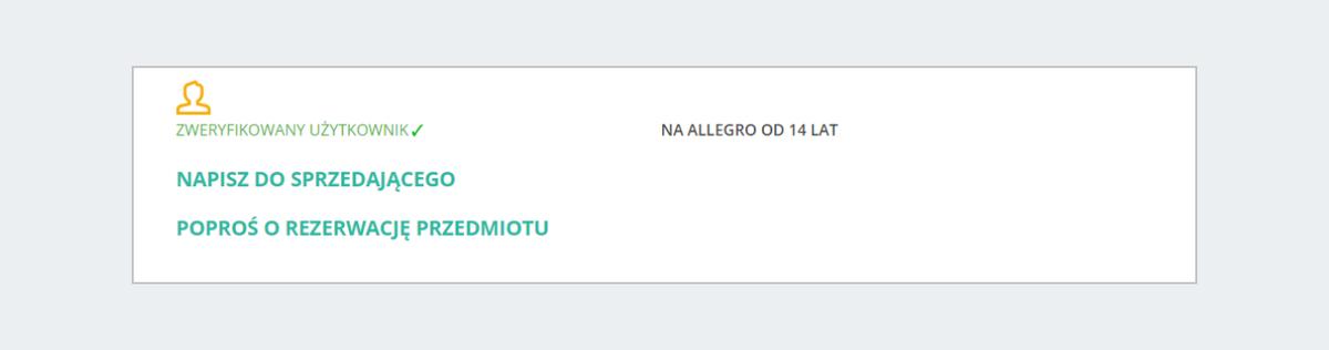 Kontakt Ze Sprzedajacym Na Allegro Lokalnie Pomoc Allegro