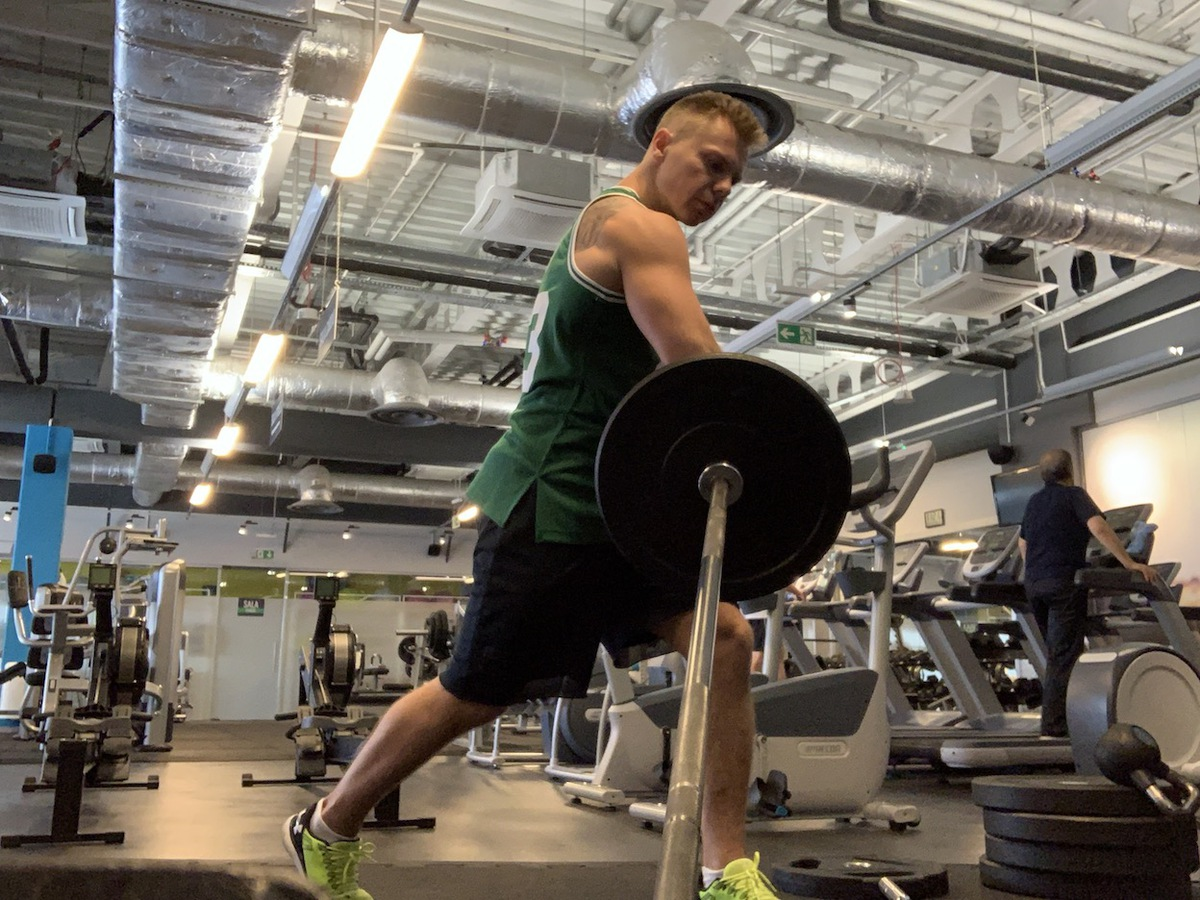 barbell spin