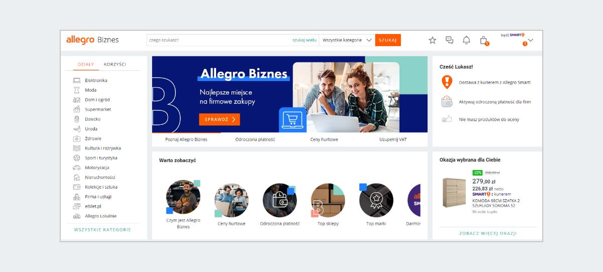 Poznaj Allegro Biznes Pomoc Allegro